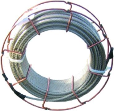 DWS Pohl Seculine Vario Seil 6 mm für Flachdachabsturzsicherung Edelstahl V2A