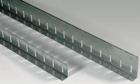Sika Kiesleiste L 100x30x1,25 mm 3,00 m/Stück Edelstahl V2A