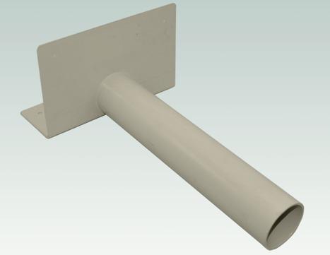 Sika Speier abgewinkelt DN75 Sarnafil 320x120/200 mm Beige