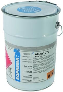 SOPREMA ALSAN 770 10 kg RAL 7035 anteilig Katalysator Lichtgrau