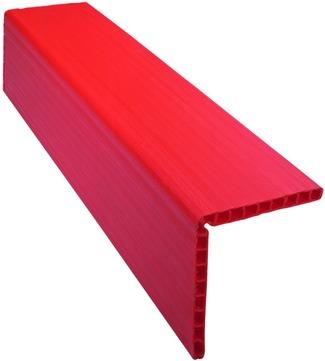 Dolezych Kantenschutzschiene 1,2 m 190x190x 19 mm Kunststoff Orange