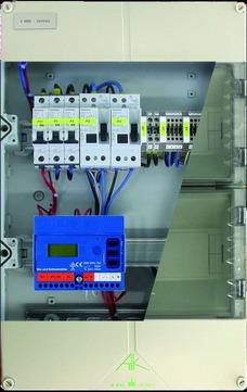 elke TECHNIK Kleinverteiler KLV-DB-6 für 6 Heizkreise für Dachrinnenheizband