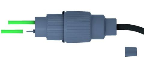 elke TECHNIK Heizbandanschluss DuoClip-A für 1- oder 2 Heizbänder
