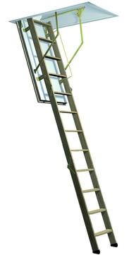 Columbus Bodentreppe Cadet 3 120x60 cm lichte Raumhöhe 220-288 cm Holz