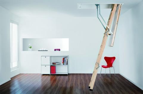 Columbus Bodentreppe Designo 140x70 cm lichte Raumhöhe 230-280 cm Holz