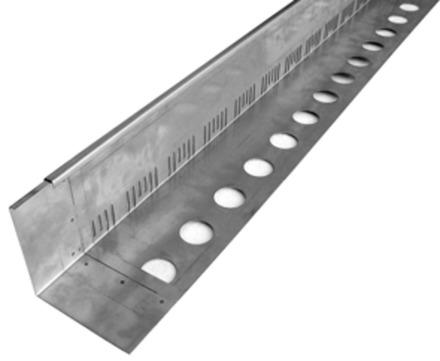 ZinCo Traufprofil TRP140 3m Schenkelhalter 140mm