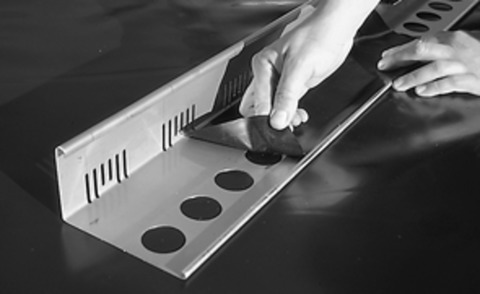 ZinCo Dachtraufprofil DP55A 3,0m Aluminium
