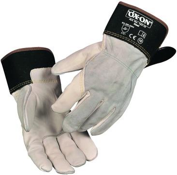 Intra Handschuh Steel Kevlar Gr. 10 für Schwarzdecken-Arbeiten Natur