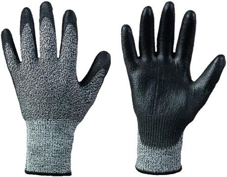 Intra Handschuh Akron Gr. 10 0842 Schnittschutz Schwarzgrau