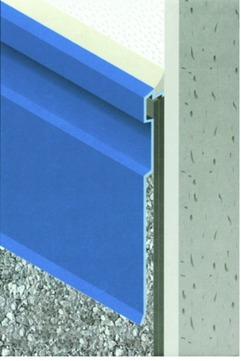 ST Extruded Trittschutzprofil AN150 AN150 Aluminium