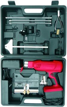 FRIESS Dämmstoffschneider Akku mit Zubehör im Koffer