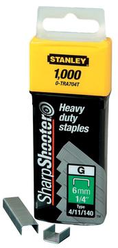 Stanley-Dewalt Klammer Typ G 6mm 1/4 Zoll 1-TRA704T 1000 Stück