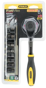 Stanley-Dewalt Rotator-Set FatMax 3/8 Zoll 0-94-606 FatMax mit Steckschlüssel 9-teilig