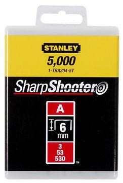 Stanley-Dewalt Klammer Typ A 6mm 1-TRA204-5T 5000 Stück