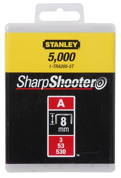 Stanley-Dewalt Klammer Typ A 8mm 1-TRA205-5T 5000 Stück