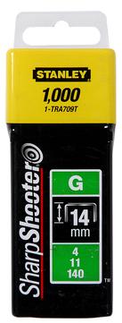 Stanley-Dewalt Klammer Typ G 14mm 9/16 Zoll 1-TRA709T 1000 Stück