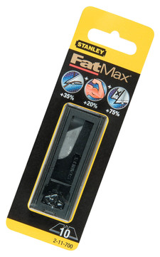 Stanley-Dewalt Trapezklinge FatMax 2-11-700 10 Stück im Spender