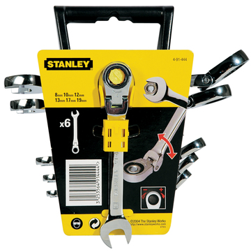 Stanley-Dewalt Ringmaulschlüssel-Set 6-teilig 4-91-444 Maxi-Drive Plus Profil
