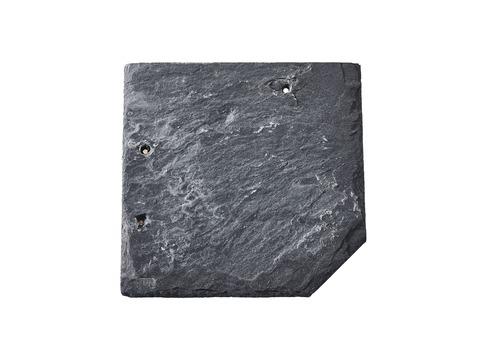 Magog Schiefer Wabendeckung 20x20 cm gelocht Grube C72