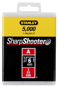 Stanley-Dewalt Klammer Typ A 6mm 1-TRA204T 1000 Stück