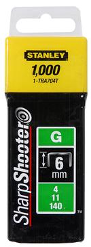 Stanley-Dewalt Klammer Typ G 12mm 1/2 Zoll 1-TRA708T 1000 Stück
