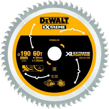 Stanley-Dewalt Kreissägeblatt 190x30mm 60WZFZ DT99564 XR Extreme