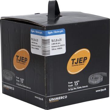 KYOCERA UNIMERCO Dachpappnagel Rundkopf TA30/25 Nr. 836125 2880St/Pak Verzinkt