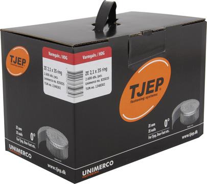 KYOCERA UNIMERCO Ringnagel ZE21/35 2600 Stück Nr. 835035 Rille Rundkopf Feuerverzinkt