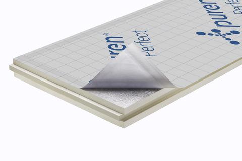 puren Dämmplatte Perfect 140 mm Nut/Feder 2400x1020 mm 3 Stück je Paket WLS 023