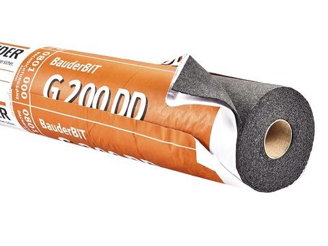 Bauder G200DD besandet 10,00 m2 je Rolle