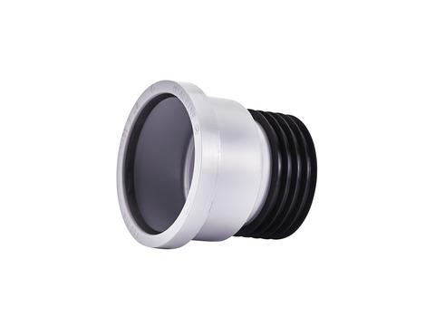Masc HT-Übergangsrohr DN110 mm für Regenfallrohr 100 mm, senkrechter Einbau Grau