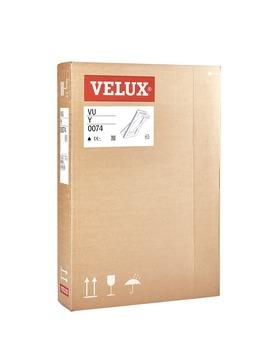 VELUX Austauschfenster Kunststoff VU Y45 0074 75x124 cm Polyurethan Thermo Aluminium
