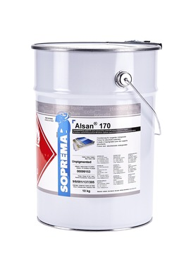 SOPREMA ALSAN 170 Primer 10,0kg anteilig 2 Pakete Katalysator