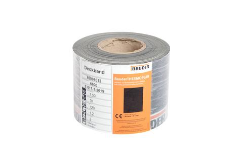 Bauder Deckband T/F 12 cm geschnitten Perlweiß