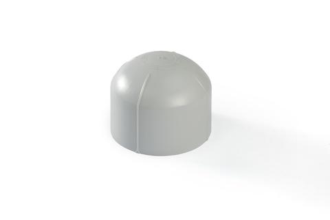 Bauder Dunsthaube DN 150 für PVC-Bahnen mit Gummiring Lichtgrau