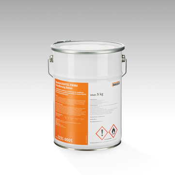 Bauder Liquitec PMMA Grundierung 5 kg Beton in Metalleimer, inkl. 2 x Katalysator Farblos