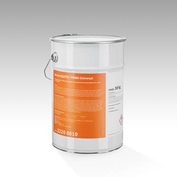 Bauder Liquitec PMMA Universal 10 kg inkl. 2 x Katalysator