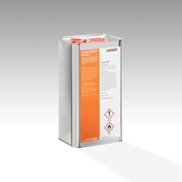Bauder Liquitec Reiniger 5 l in Metallkanister Farblos