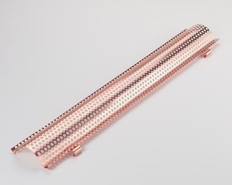 Raku 6-teilige Laubschutz 333 mm 2 m Classic für Dachrinne Kupfer