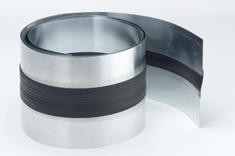Raku Dehnfugenband 260/0,7 mm 3 m einseitig vulkanisiert Titanzink
