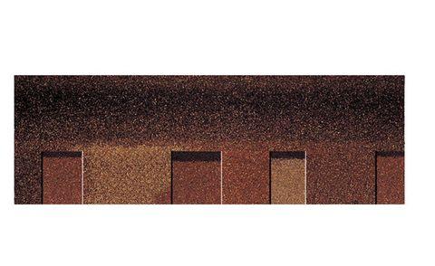 Onduline Bitumenschindel Pro Opera Bardoline Pro laminiert 99,8x33,7 cm Braun