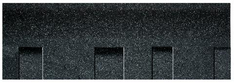 Onduline Bitumenschindel Pro Opera Bardoline Pro laminiert 99,8x33,7 cm Schiefergrau