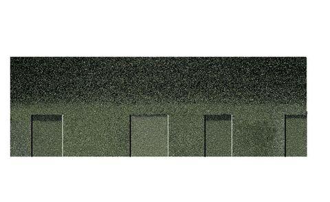 Onduline Bitumenschindel Pro Opera Bardoline Pro laminiert 99,8x33,7 cm Grün