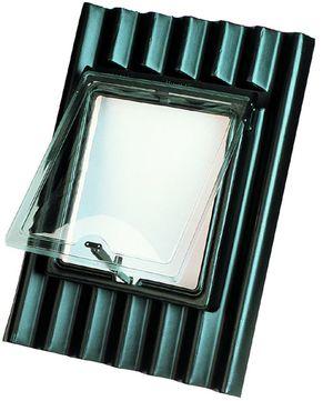 Onduline Dachfenster Kunststoff 63x90 ONDULINE Schwarz