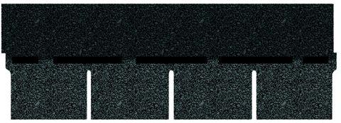 Onduline Bitumenschindel Pro Rechteck Bardoline Pro 100x34 cm Schieferblau