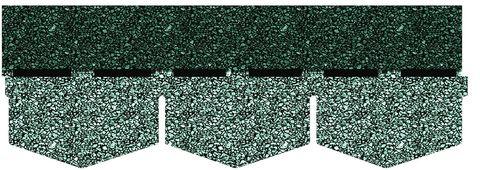 Onduline Bitumenschindel S125 Dreieck Bardoline Pro 100x34 cm Unigrau