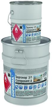 SOPREMA Sopravap 3/1 Komponente A 4,3 kg und Komponente B 20,7 kg