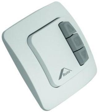 Roto Bedienungszubehör ZEL Steuerung Schalter 230 Volt / 24 Volt für 24 Volt Antrieb Weiß