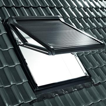 Roto Außenrollladen ZRO elektrisch Funk R4/R7 RT2 11/14 R703 Designo Anthrazitmetallic