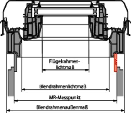 Roto Zubehör ZUB WVB Maß-Renovierung MR Winkelverbinder Kiefer